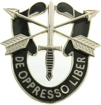 US Special Forces Lapel Pin - De Oppresso Liber Military Insignia Sword & Arrow - $11.99