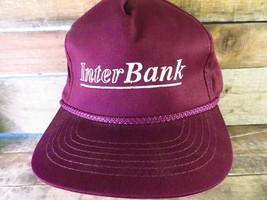 Inter Bank Adjustable Adult Hat Cap - $8.35