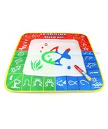 1 Pcs 49X48cm 3 color Magic Water Drawing Mat with 1 Magie pen for kids ... - $11.80