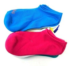 K. Bell Assorted 12 Pair Girls No Show Socks, Shoe Size: 10-13 - $18.99