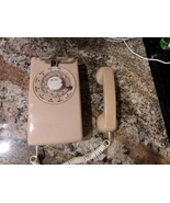 Vintage Western Electric Pink Rotary Wall Mount Telephone  - $98.99