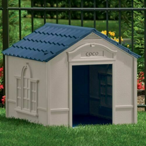 Primary image for XXL DOG KENNEL FOR X-LARGE DOGS OUTDOOR PET CABIN INSULATED HOUSE BIG SHELTER