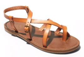 Universal Thread Women's Faux Leather Lavinia Toe Wrap Thong Sandal Vegan NWT image 1