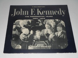 "John F. Kennedy Documentary ""The Presidential Years 1960-1963""  LP Vinyl... - $8.59"
