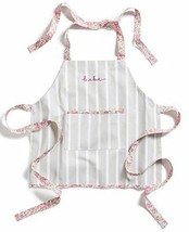 Celebrate Shop Children's Striped Cotton 'Bebe' Apron (Gray/White) - $33.20 CAD