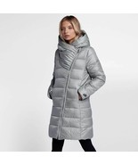 New Nike Sportswear Women's Down Fill Parka Coat, Grey Size XS - $186.99