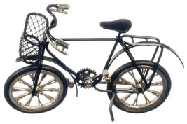 Dollhouse Miniatures Child's Black Bicycle #G8142 - $14.99