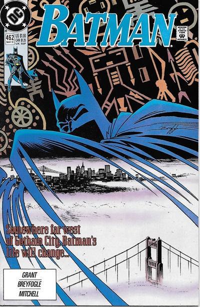 Batman Comic Book #462, DC Comics 1991 NEAR MINT NEW UNREAD