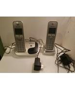 Panasonic KX-TGD210 N & PNLC1056 YA Cordless Phones Tested Working KX-TGD212N - $19.00