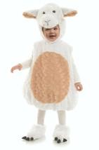 Underwraps Belly Babies Lamb Plush Furry Infant Toddlers Halloween Costu... - £22.41 GBP