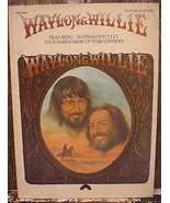 Waylon and Willie 1978 Piano Vocal Chords Songbook - $14.00