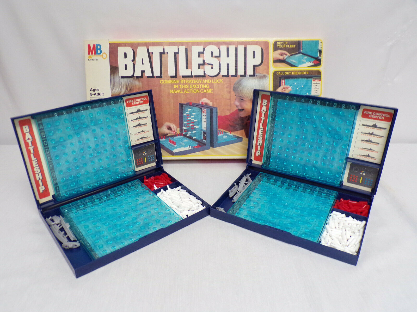 Primary image for ORIGINAL Vintage 1981 Milton Bradley Battleship Board Game Missing 4 Pieces