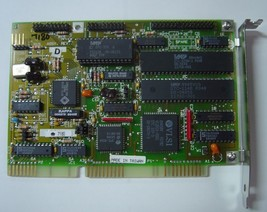 DTC 7180 16BIT ISA MFM Hard Drive Controller AS IS
