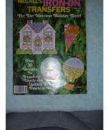 McCALL'S IRON-ON TRANSFERS COLOR FOR FABRIC/WOOD CHRISTMAS HOLIDAY Vol VI - $4.96