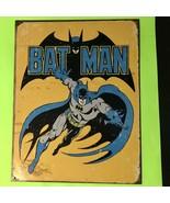 Batman Retro Large 16 x 13 Vintage Tin Sign Distressed - $8.59