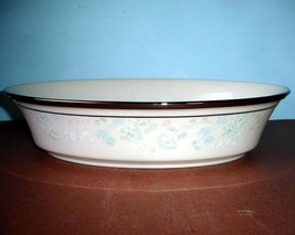 """Lenox Nicole Vegetable Bowl Open Oval Floral 10.75"""" New - $86.90"""