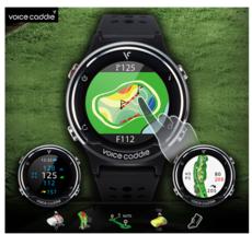 Voice Caddie Premium Golf Range Watch T5 made by Korea GEAR - $662.13 CAD