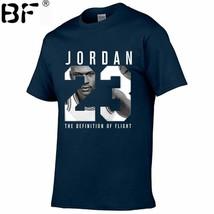Jordan 23 Camiseta para Hombres Swag Impresión Algodón Mujer Camisa - $22.95