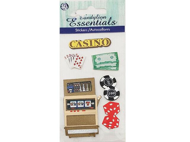 Sandylion Essentials Casino Stickers #PSCBHMLE153