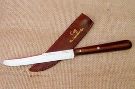 Rare Vintage Case XX The Signature Line CAP 254 Round Tip Steak Knife Sh... - $99.99
