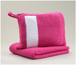 Kashwere Travel Throw Blanket - Magenta Pink - $78.00
