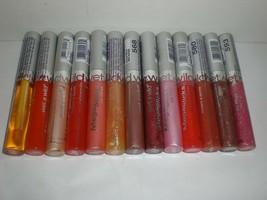 Wet n Wild MegaSlicks Shine Shiny Lipgloss Lot of 13 Different Colors Shades - $15.85