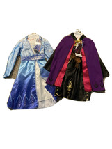 Disney Frozen II Elsa & Anna Adventure Dress Fits Girls Sizes 4-6X Costume  - $38.69