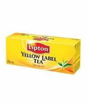 Lipton Yellow Label 25 Tea Bags - $9.89