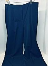 Jones New York Black Stretch Dress Pants Womens Size 16 In Good Shape  - $18.32