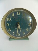 Vintage Westclox Baby Ben Style 8 Fashion Brite Shaded Fire Alarm Clock - $36.99