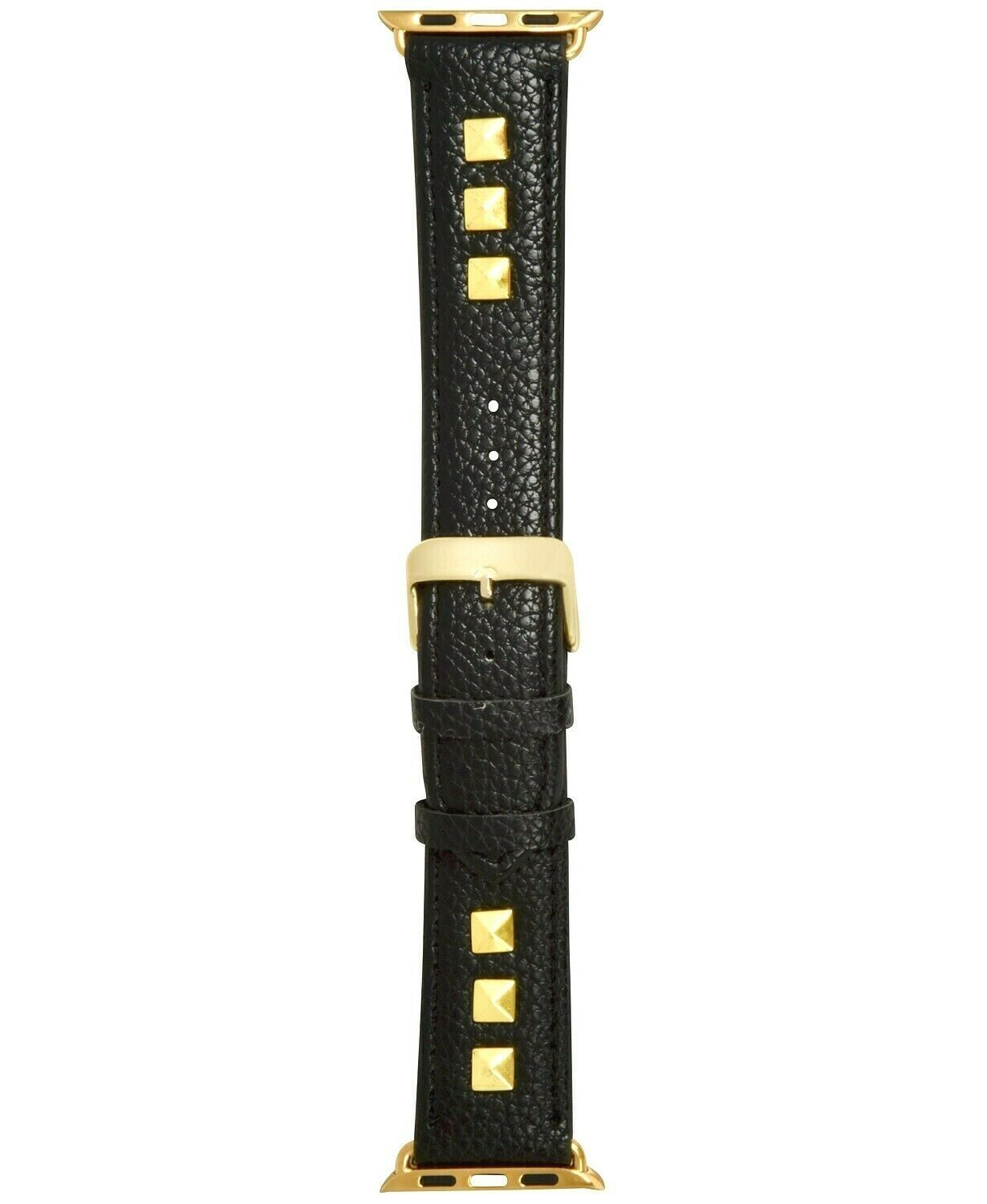 NEW I.N.C. Women's Gold Studded Faux Leather 42mm Band Strap for Apple Watch