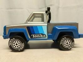 "Blue Pickup Truck Stepside Pressed Steel 8.5"" Tonka 1979 Vintage Rare Co... - $41.13"