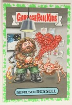Repulsed Russell Garbage Pail Kids Trading Card Horror-Ible 2018 #9B - $1.48