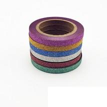 Tapes Glitter Color Stationery Paper Scrap-Booking School Tools Decorati... - $3.99