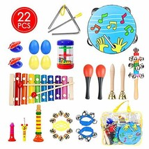UNGLINGA Toddler Musical Instruments Toys Set for Kids - Percussion Inst... - $33.53