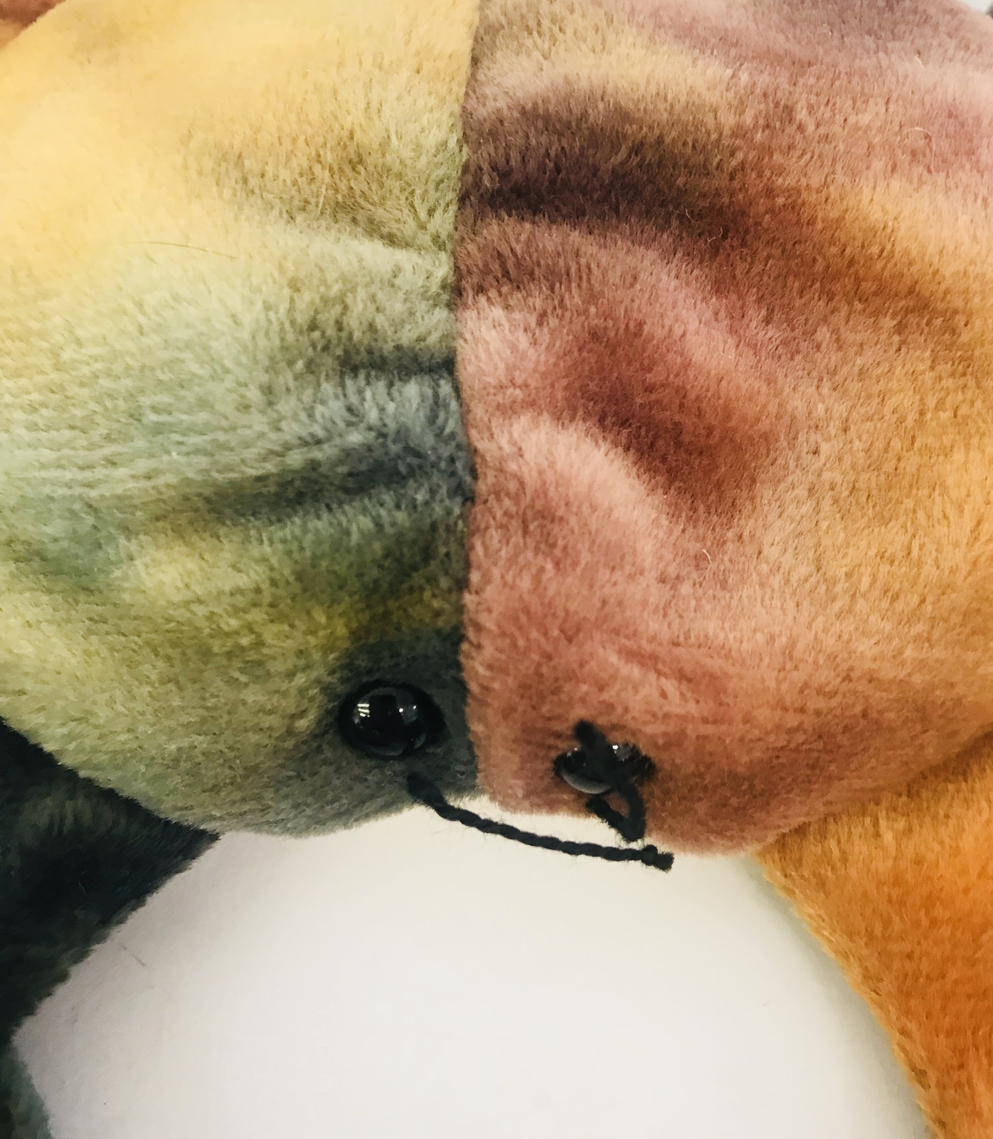 Beanie Babies 1996 Claude Crab Tie Dye PVC NO Tag
