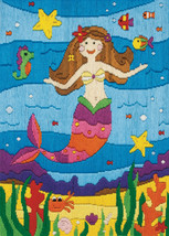 Mermaid Long Stitch Kit from Anchor AL226 Free P+P - $35.36