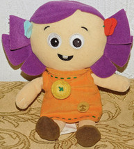 "Dolly Plush Toy Story 3 Disney Store Purple Hair Orange Dress Button Rag Doll 7"" - $42.06"