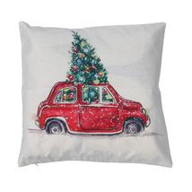 (as show)1 pcs Christmas Pillowcase Cotton Linen Pillow Case Bed Home Ch... - $16.00