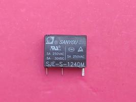 SJE-S-124DM,  24VDC Relay, SANYOU Brand New!! - $5.63