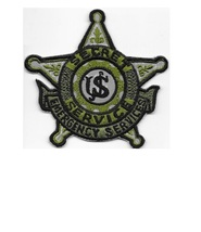 US Secret Service USSS Emergency Services & Response Agent Patch grey  4 x 4 in - $11.99