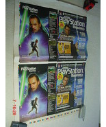 New Zealand Issue Star Wars Playstation Magazine Double Cover Proof Shee... - $38.69