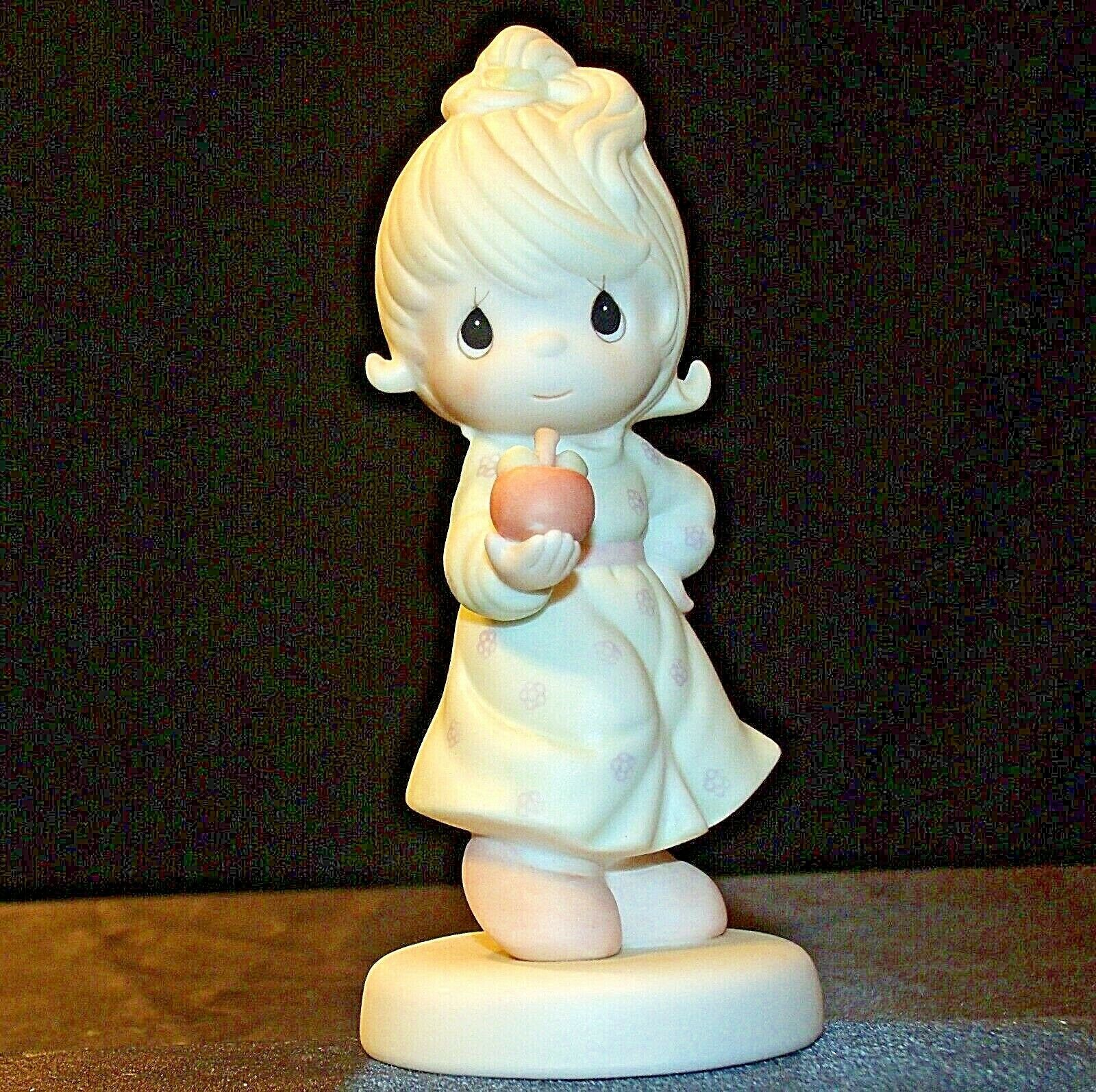 Precious Figurines Moments Yield Not To Temptation 521310 AA-191881  Vintage Col