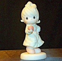 Precious Figurines Moments Yield Not To Temptation 521310 AA-191881  Vintage Col image 1