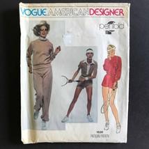 Vogue American Designer Penfold Top T-Shirt Pants 1636 Pattern Size 12 1970s - $7.69
