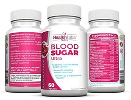 Health Labs Nutra Blood Sugar Ultra - Supports Healthy Blood Sugar Levels, Cardi - $43.27