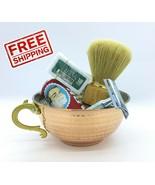 5 pcs x Shaving Copper Bowl Set Cup Mug Arko Soap 10pc Derby Razor Yuma ... - $23.98