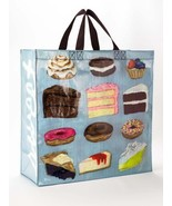 """Sweet Treats Shoppers Tote New Re-Usable 15""""h x 16""""w x 6"""" Donut Pastry F... - $13.95"""