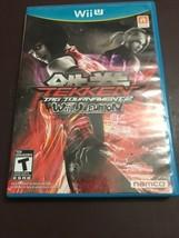 Tekken Tag Tournament 2 -- Wii U Edition (Nintendo Wii U, 2012) Complete... - $17.59