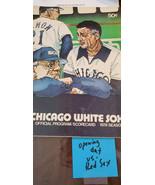 1978 Boston Red Sox @ Chicago Blanc Ouverture Jour Programme Yastrzemski... - $11.96